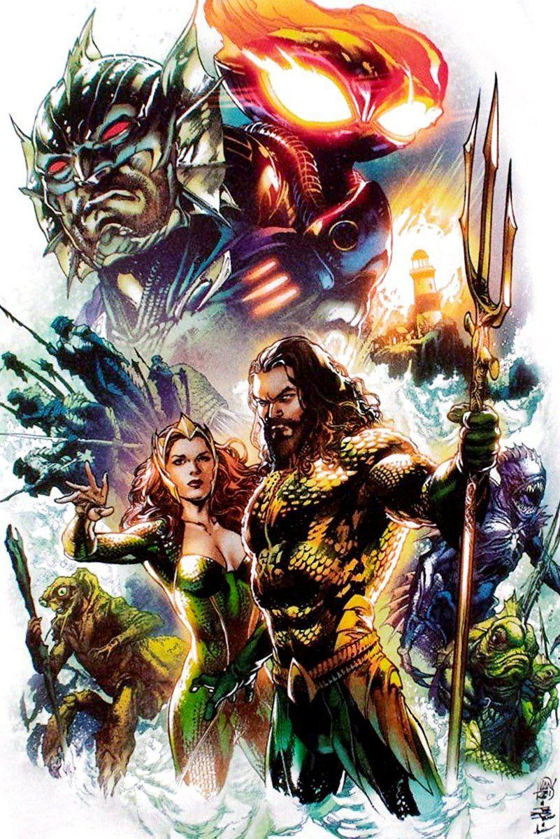 Aquaman Movie concept poster art (lores) NYCC Aquaman