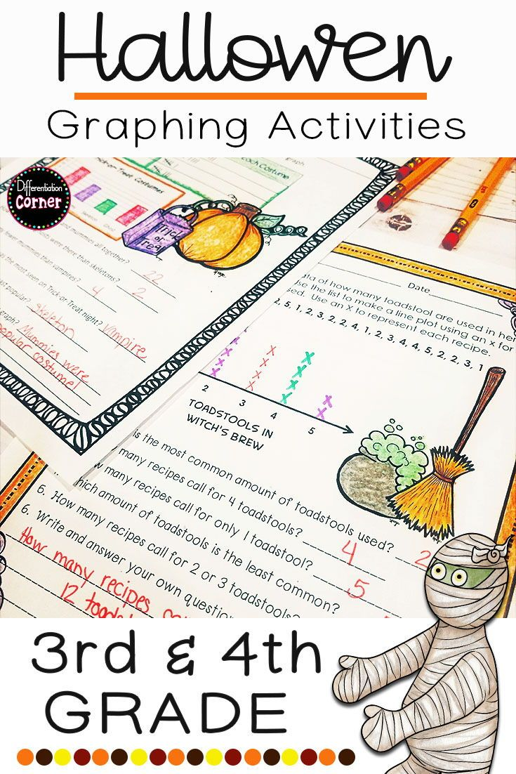 Halloween Math Graphing | Halloween math activities ...
