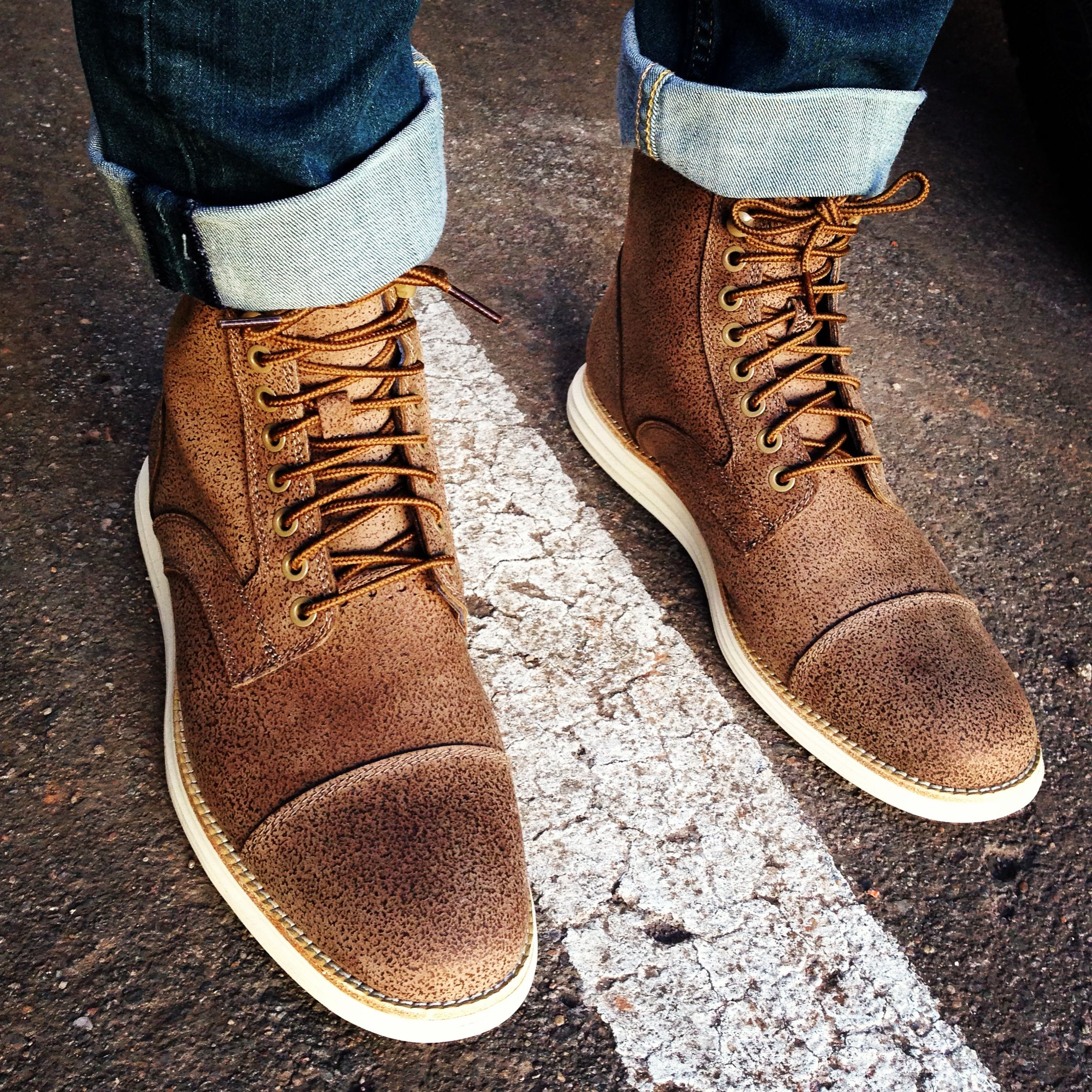 Lunargrand Lace Boot Taupe Colehaan Nike My Style In