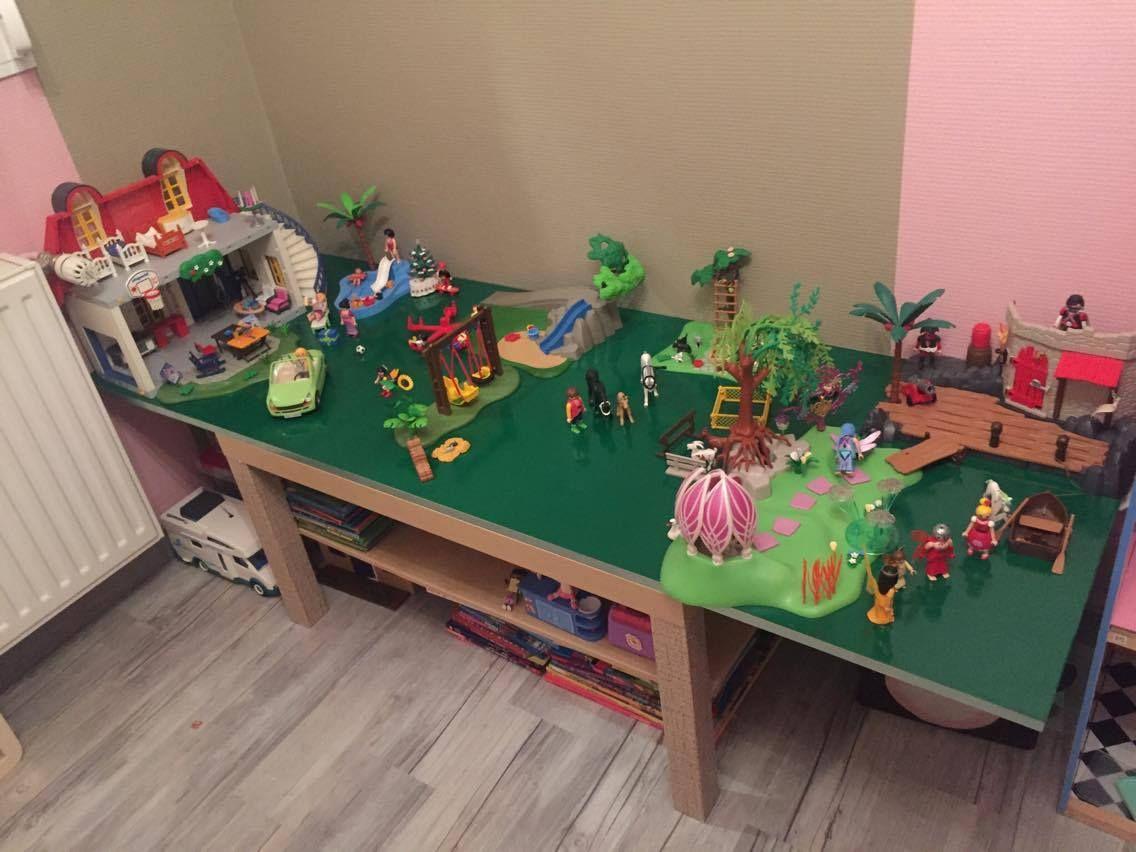 Une table de jeu playmobil en 2 temps 3 mouvements for Ikea juguetes infantiles