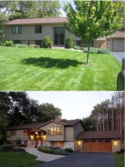Completely Changes The Curb Appeal Home Exterior Makeover Exterior House Remodel House
