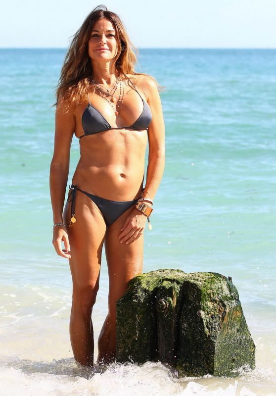 Kelly Bensimon Hot in Bikini - Beach in Miami e36a8b2e2