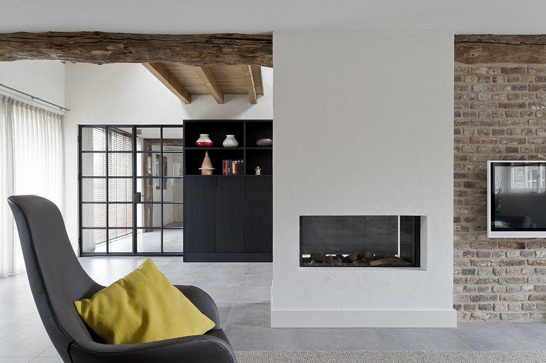 Landelijk Modern Interieur : Boerderij leendershoeve landelijk modern interieur met staal