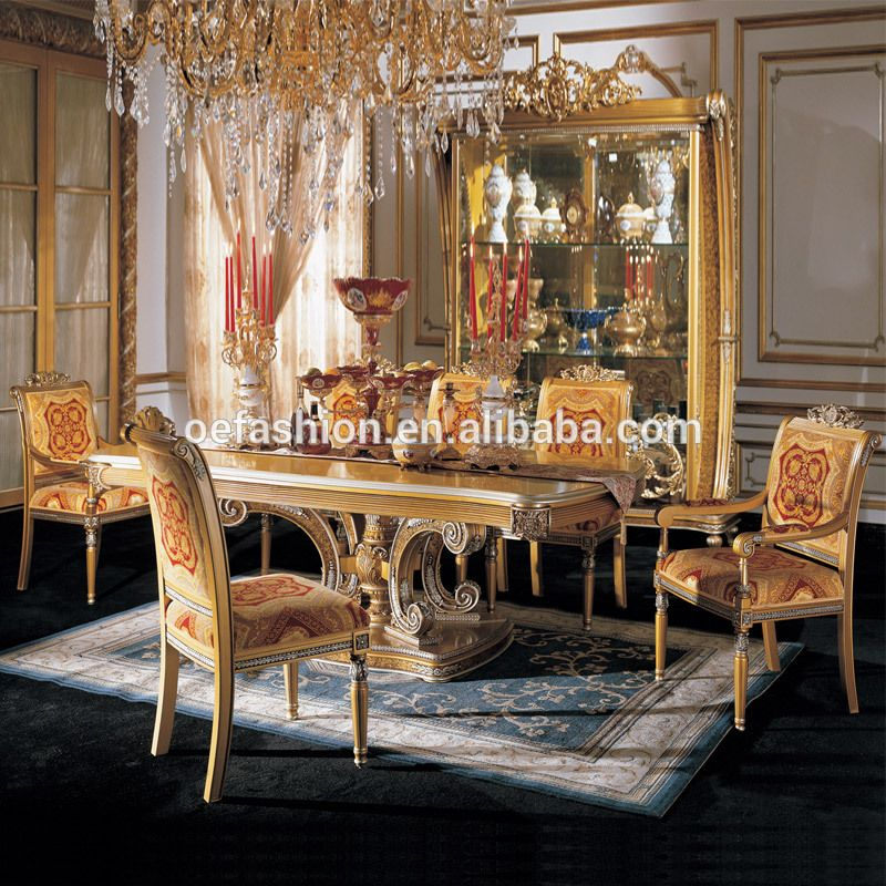 Oe Fashion Factory Wooden Dining Table And Chairs Luxury Dining