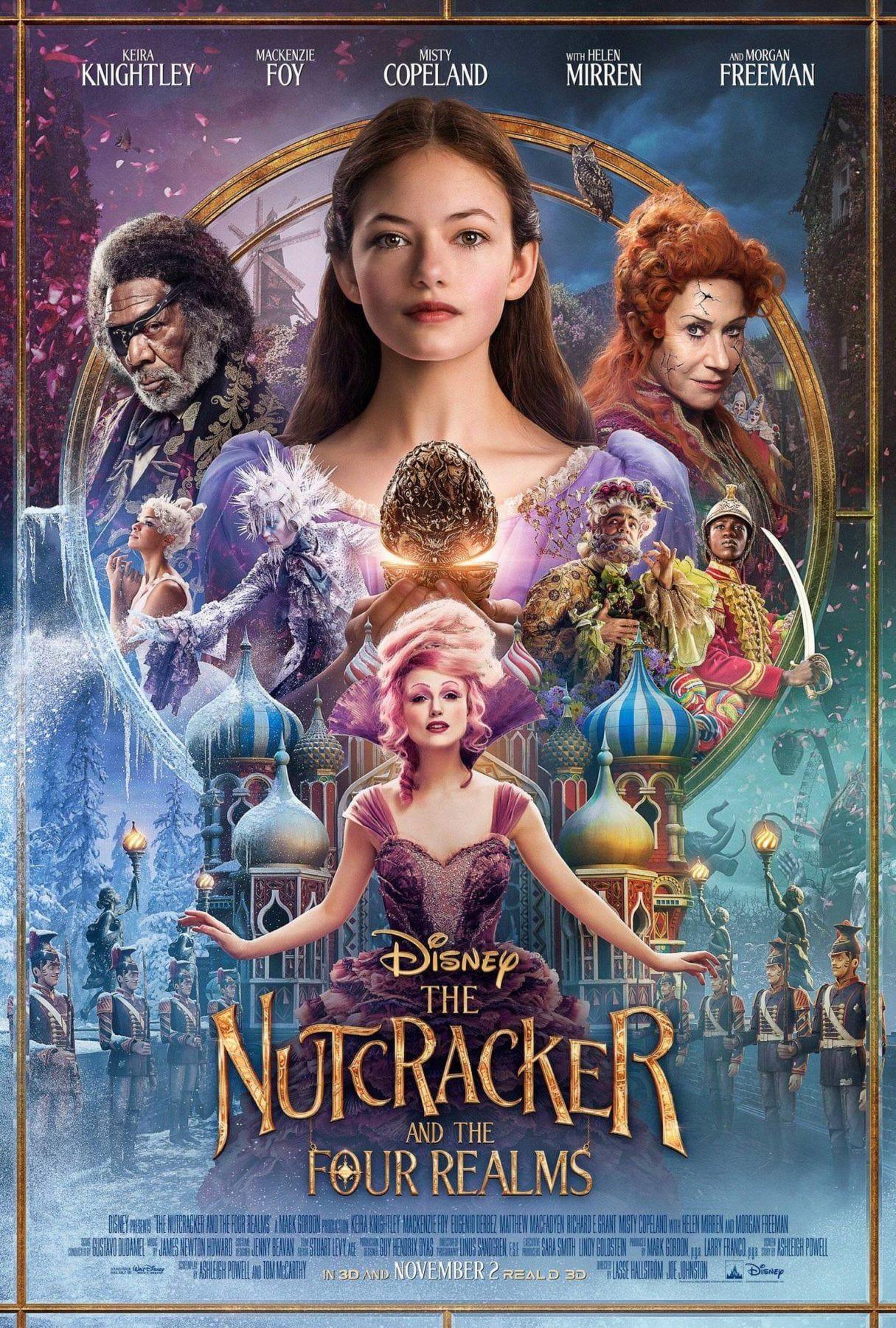 The Nutcracker And The Four Realms New Movie Trailer And Poster