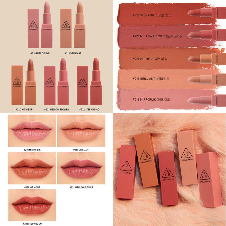 3ce Mood Recipe Matte Lip Color 2 Lip Colors 3ce Makeup 3ce