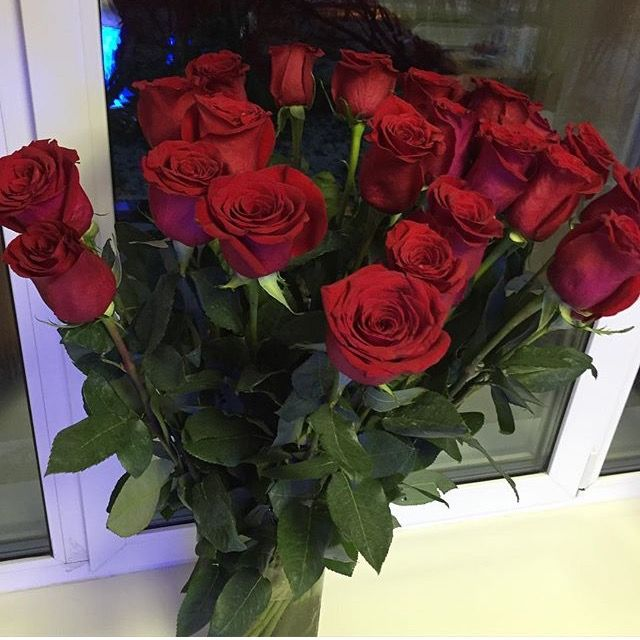 Only For You My Love Blooming Flowers Bunch Of Red Roses Flower Aesthetic