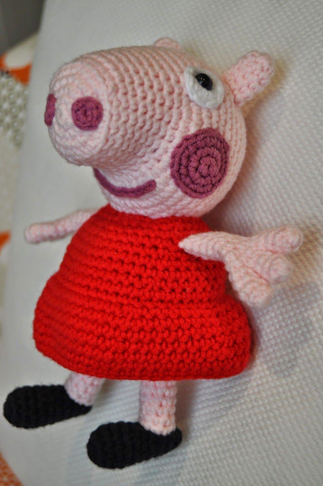 La vaquita de lanita: Peppa Pig | Patrones Amigurumi | Pinterest
