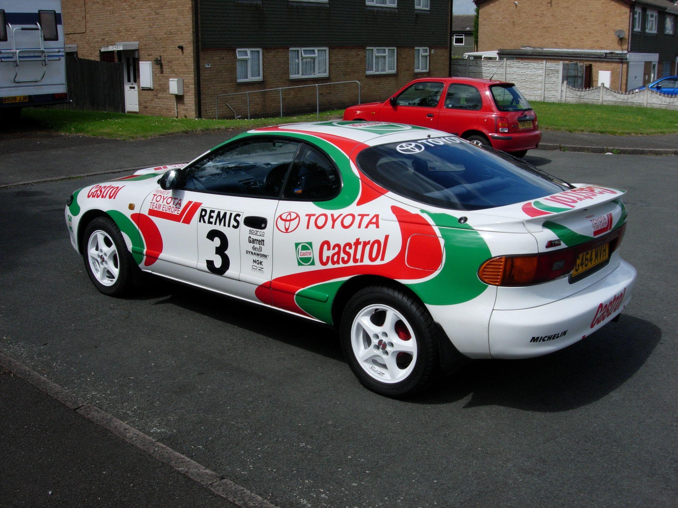 Celica ST185 Castrol Graphics Kit   Our Work   Pinterest   Toyota ...