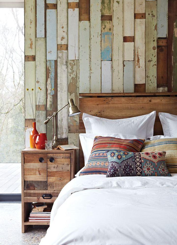 Dicas para repaginar a decora o do quarto paredes de - Pared rustica interior ...