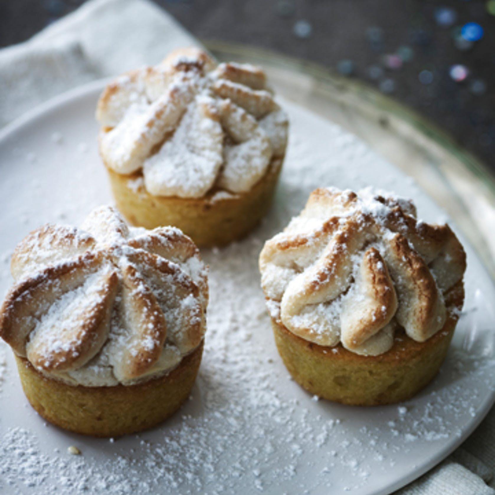 Opskrift: Kransekage-cupcakes - ISABELLAS