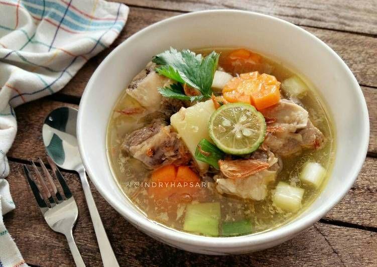 Resep Sop Iga Sapi Enaaak Bangeet Oleh Indry Hapsari Resep Makanan Resep Resep Masakan Indonesia