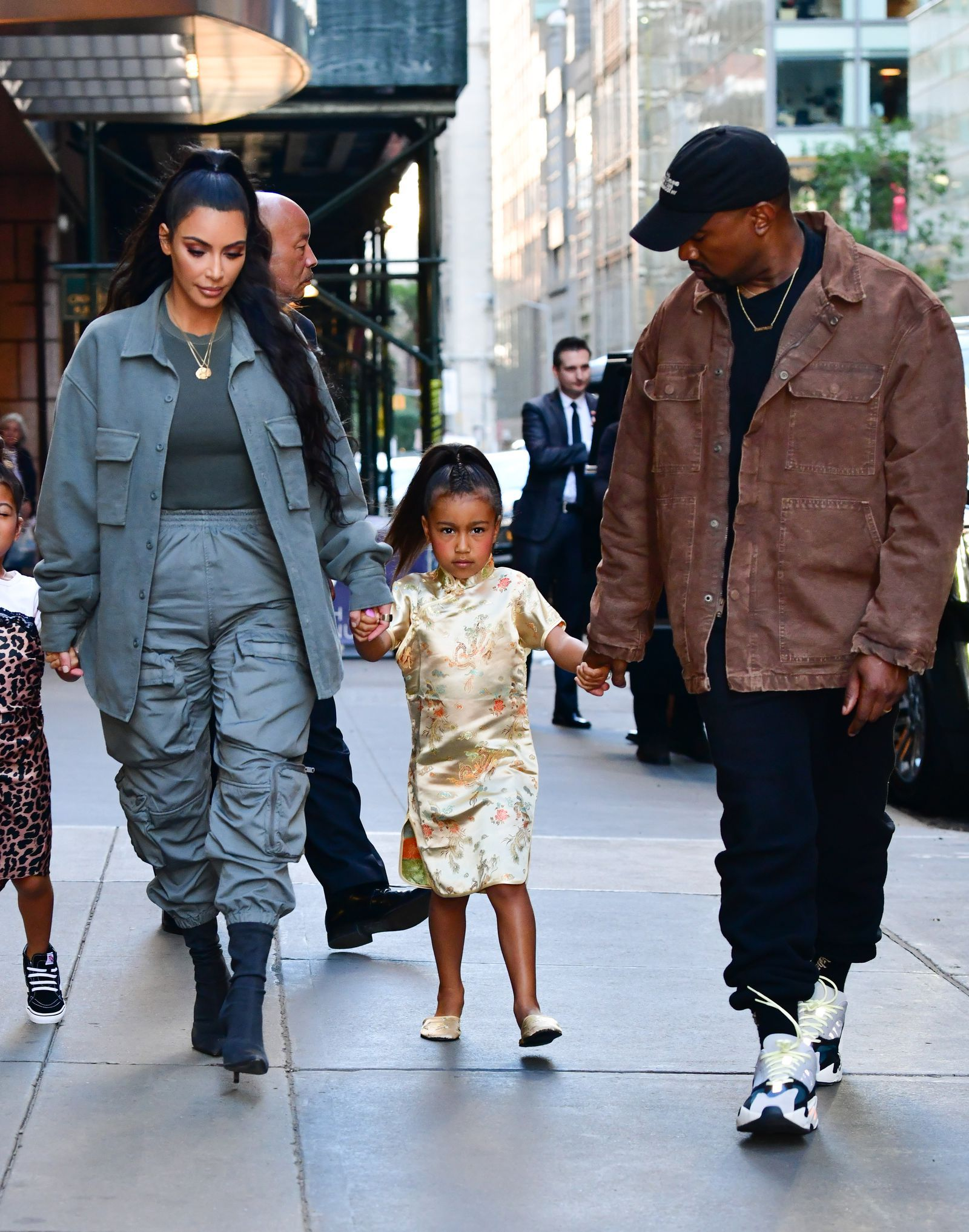 1d5957aaf North West s Birthday Party Ended with an Epic Tantrum on the Streets of  New York- HarpersBAZAAR.com