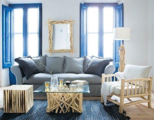 Risultati immagini per casa mare arredamento navy blue for Arredamento casa per disabili