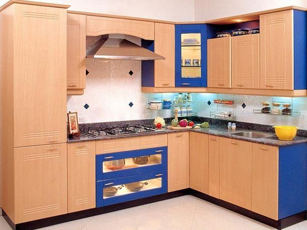Elegant Modular Kitchen India In Apartments From Modular Kitchen Cabinets Price
