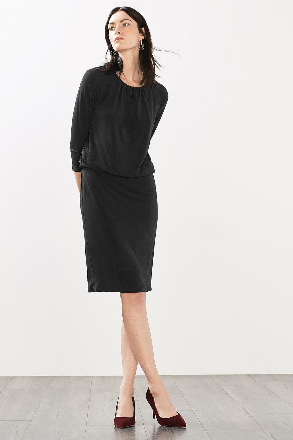Esprit - Stretch Kleid aus Crep-Jersey im Online Shop ...