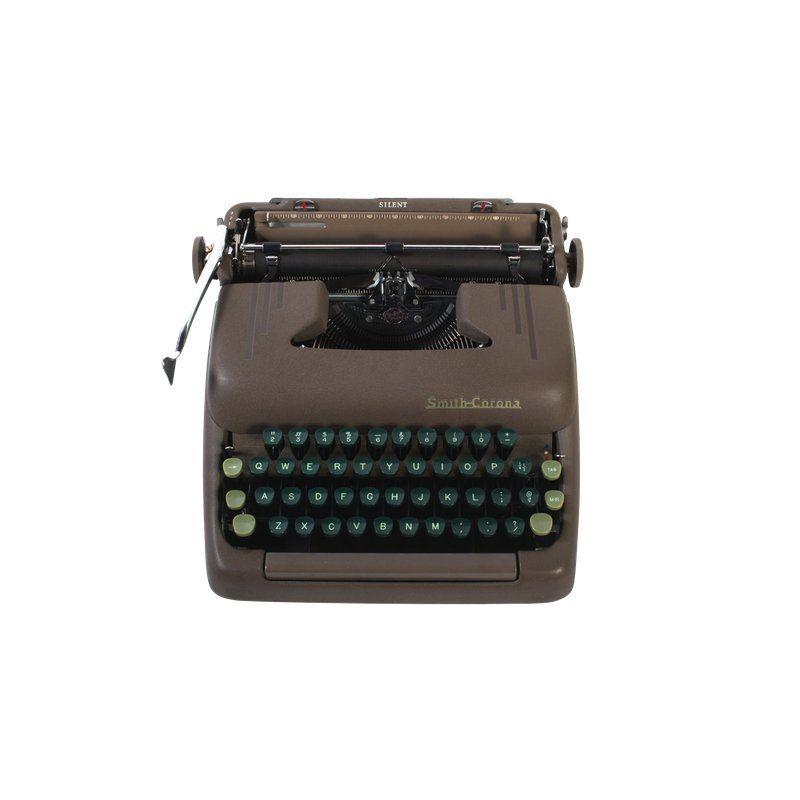 PINK Rejuvenated Smith Corona Silent-Super Typewriter Excellent Working Order