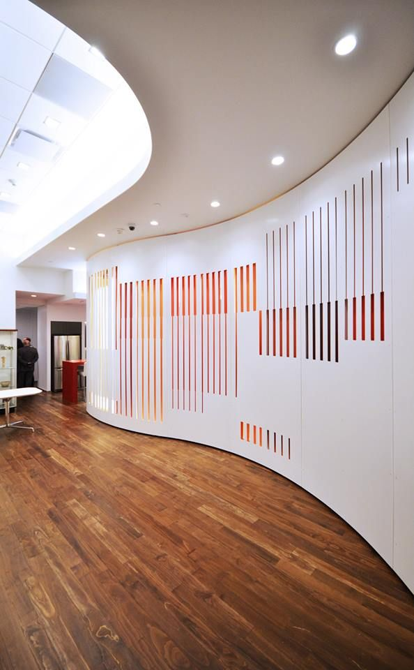 Solutions Studio Pwc Hq Screen Wall Systems Wall Design