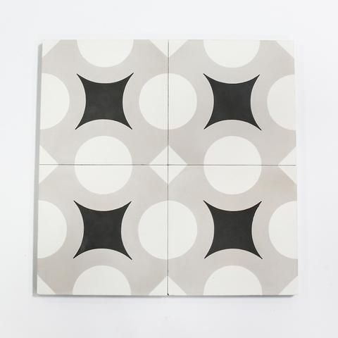 barcelona 2 is the geometrically patterned coordinate of the two simplistic, yet charmed, patterns inspired by tiles found in the undulating home of Antoni Gaudí's - Casa Batlló - in Barcelona. when u