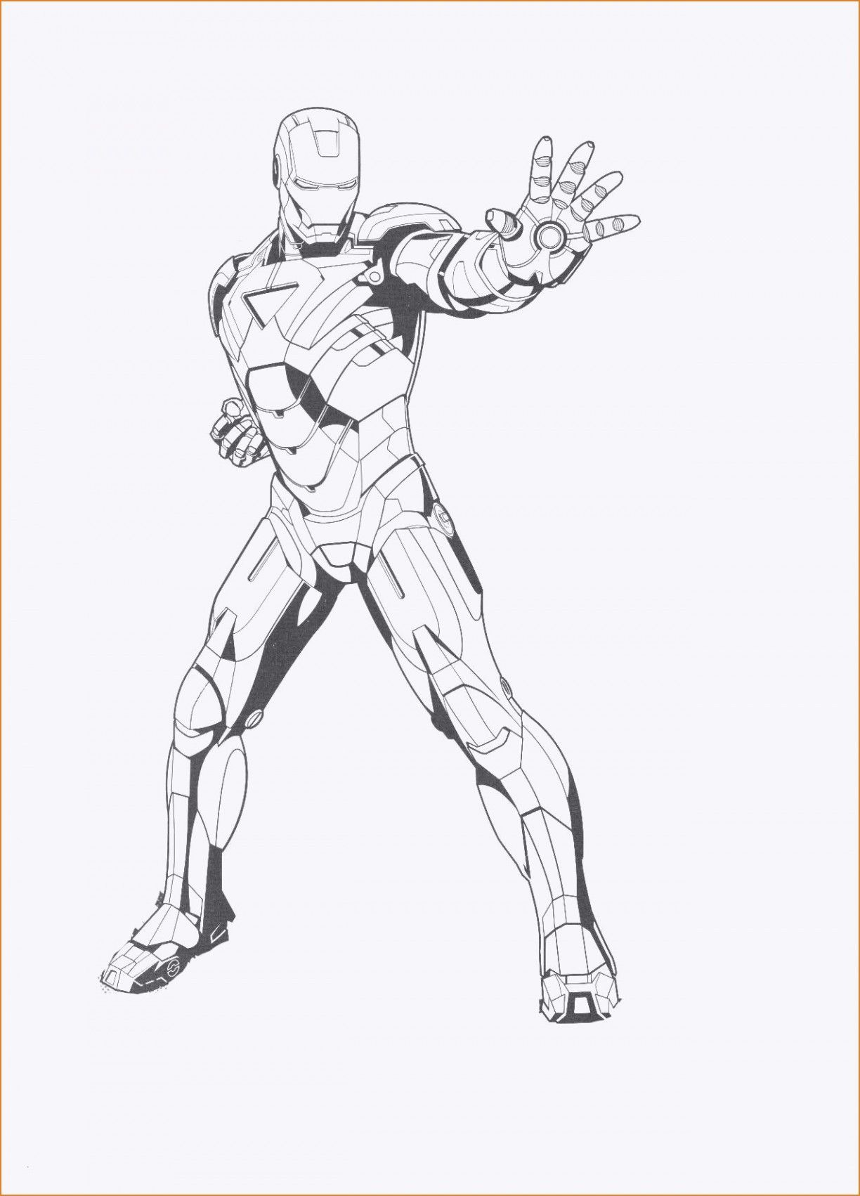 Iron Man 7 Coloring Pages Inspirational Free Printable Ironman