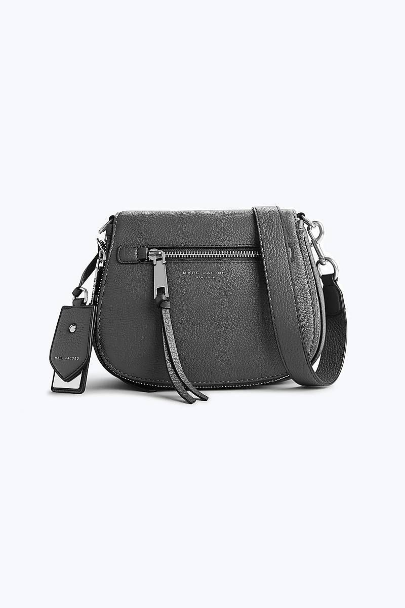 Marc Jacobs Recruit Small Nomad Saddle Bag in Shadow  95602ce0db752