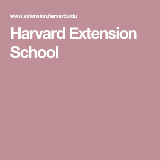 Harvard Extension School | Homeschooling online resources