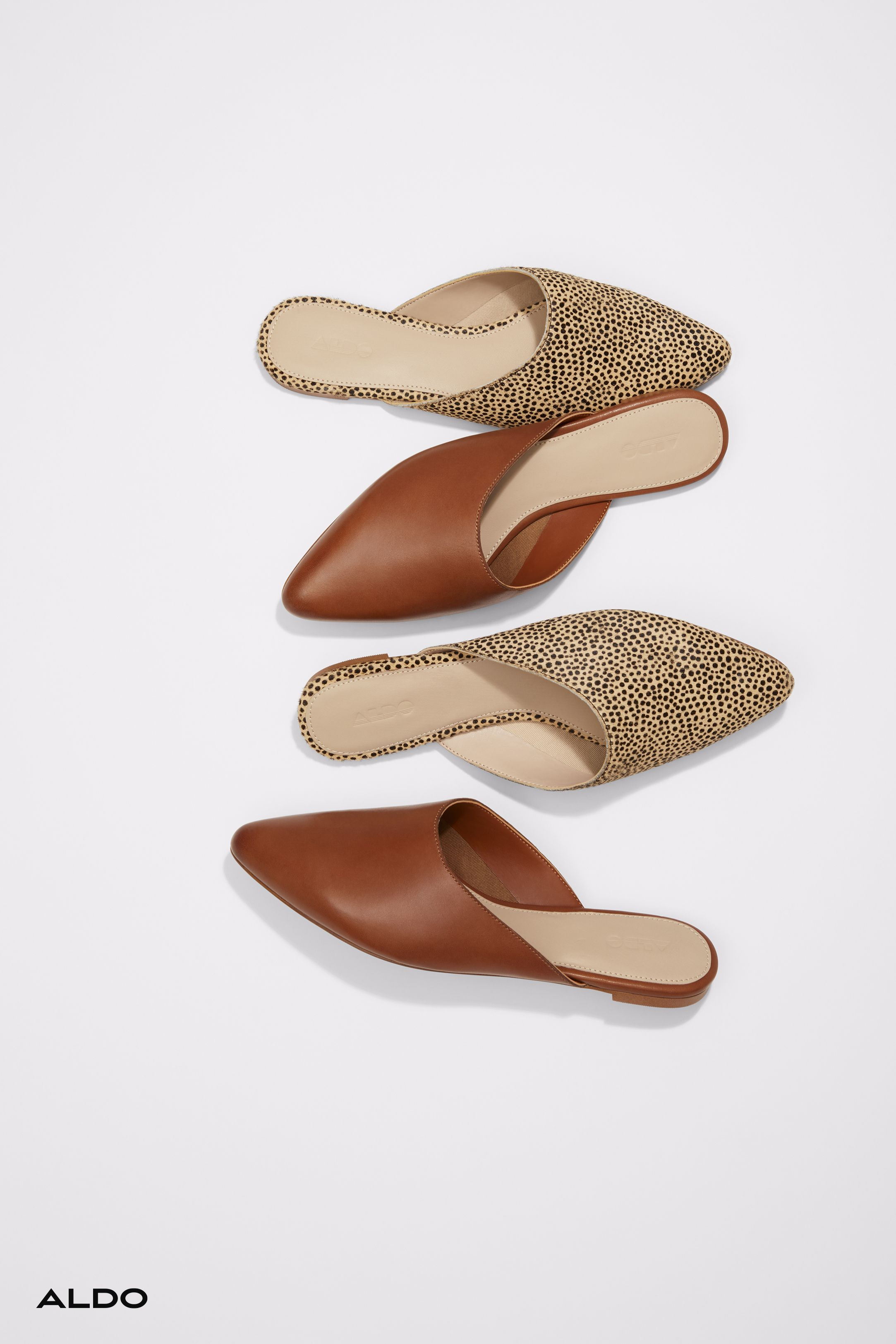 Slip-on flats from Aldo shoes   Womens