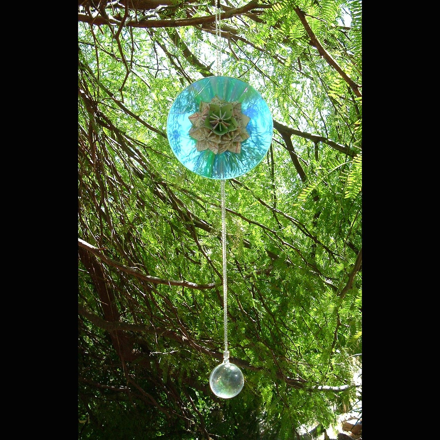 Cool, Decorate Old CDs And Put Them Out In The Garden To Keep The Birds