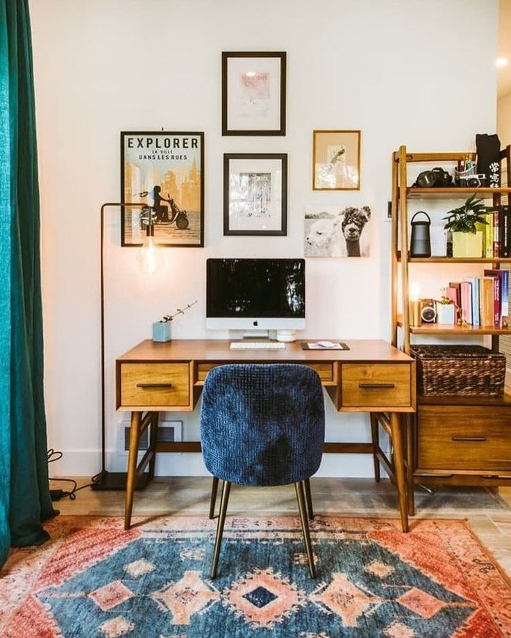 funky home office in 2020   Home office design, Interior