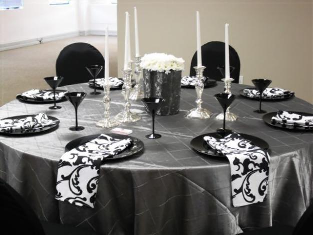 Black White Table Decoration OTTHON T Lal S
