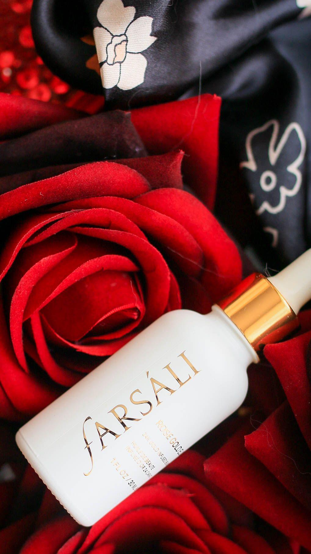 Farsali Rose Gold Elixir Minimalist beauty, Rose gold