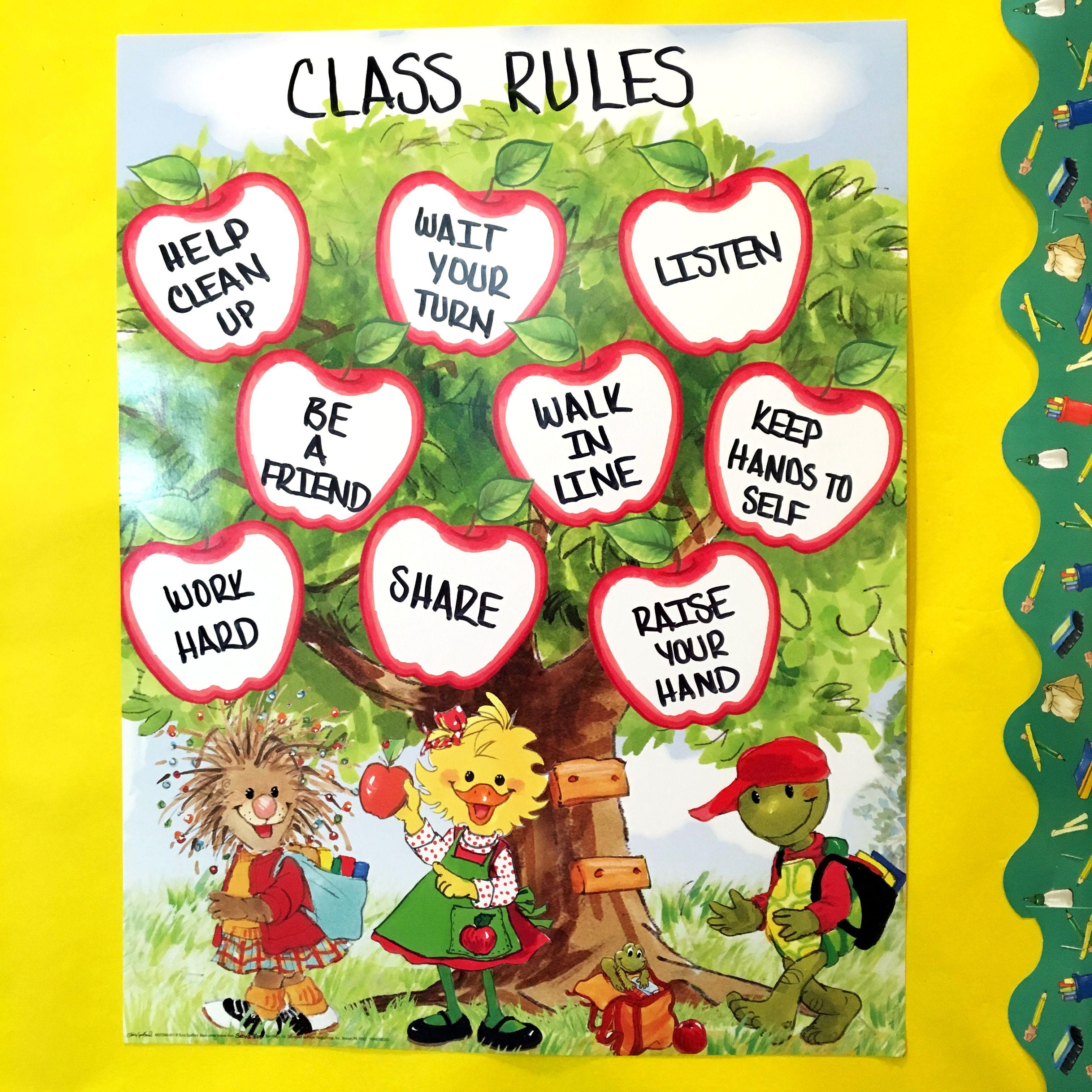 Classroom Rules Ideas ~ Suzy s zoo classroom ideas class rules chart