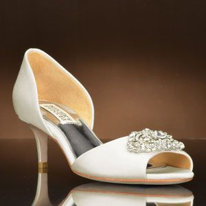 wedding shoes, Badgley mischka shoes