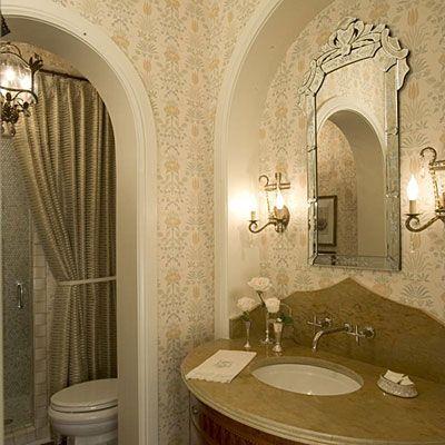 Put Out Fresh Flowers - Comfortable Guest Baths Blume, Bad und Nizza - dekoration für badezimmer