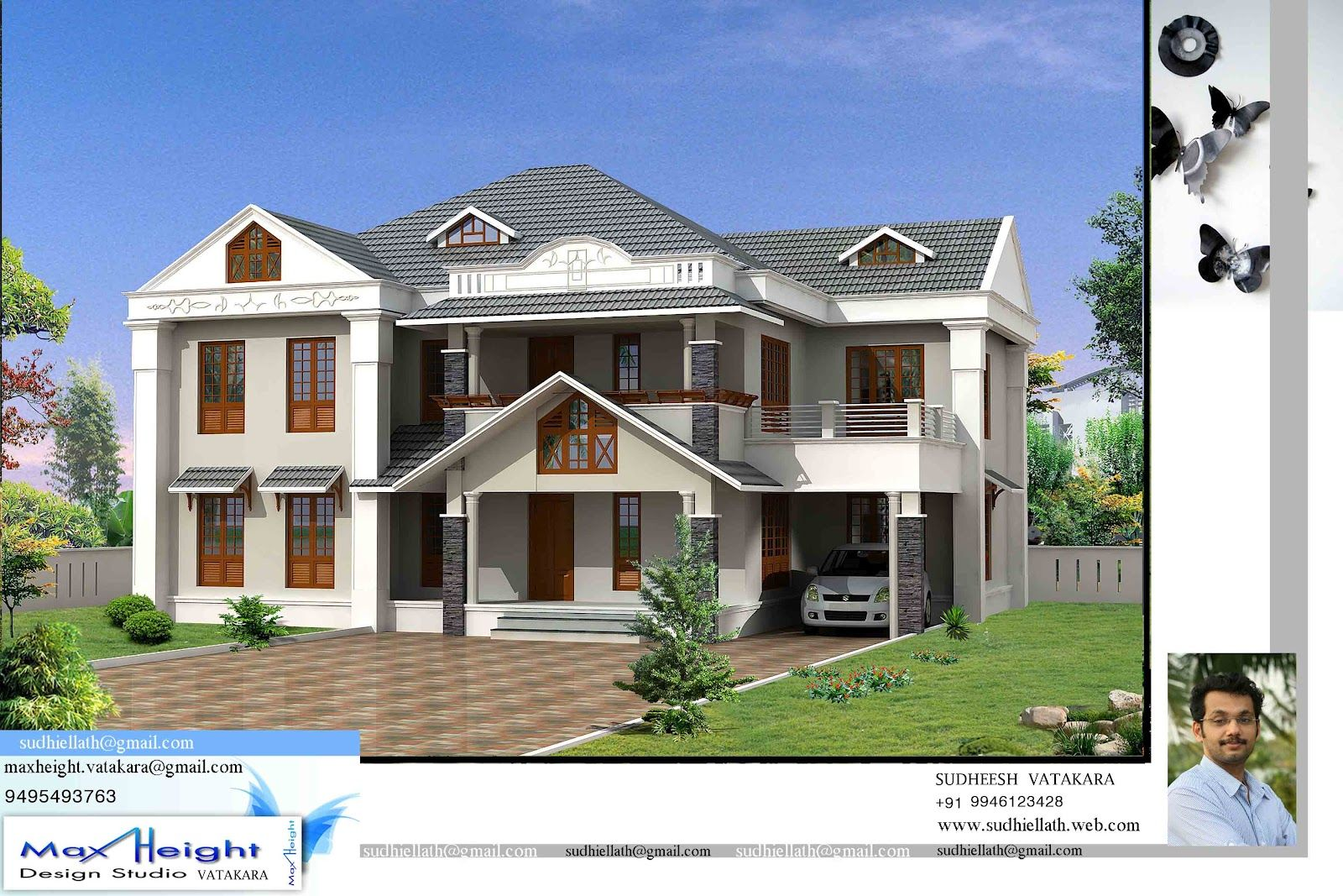 Architecture Design Kerala Model house designs kerala model | house design ideas | pinterest
