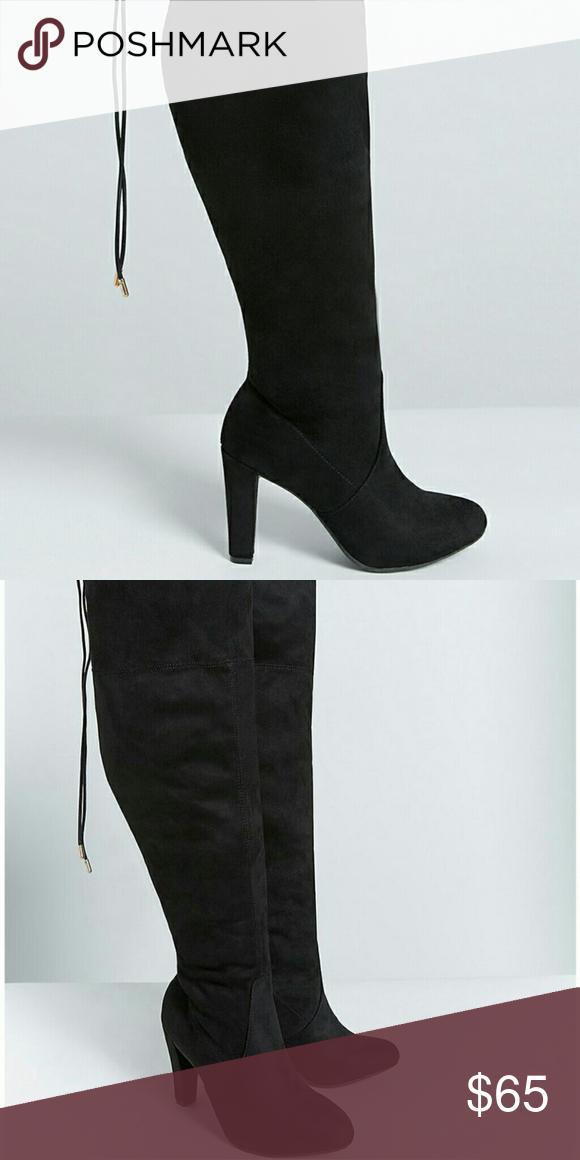 f7db37fc4 Wide Calf SEXY Boots  3 Black