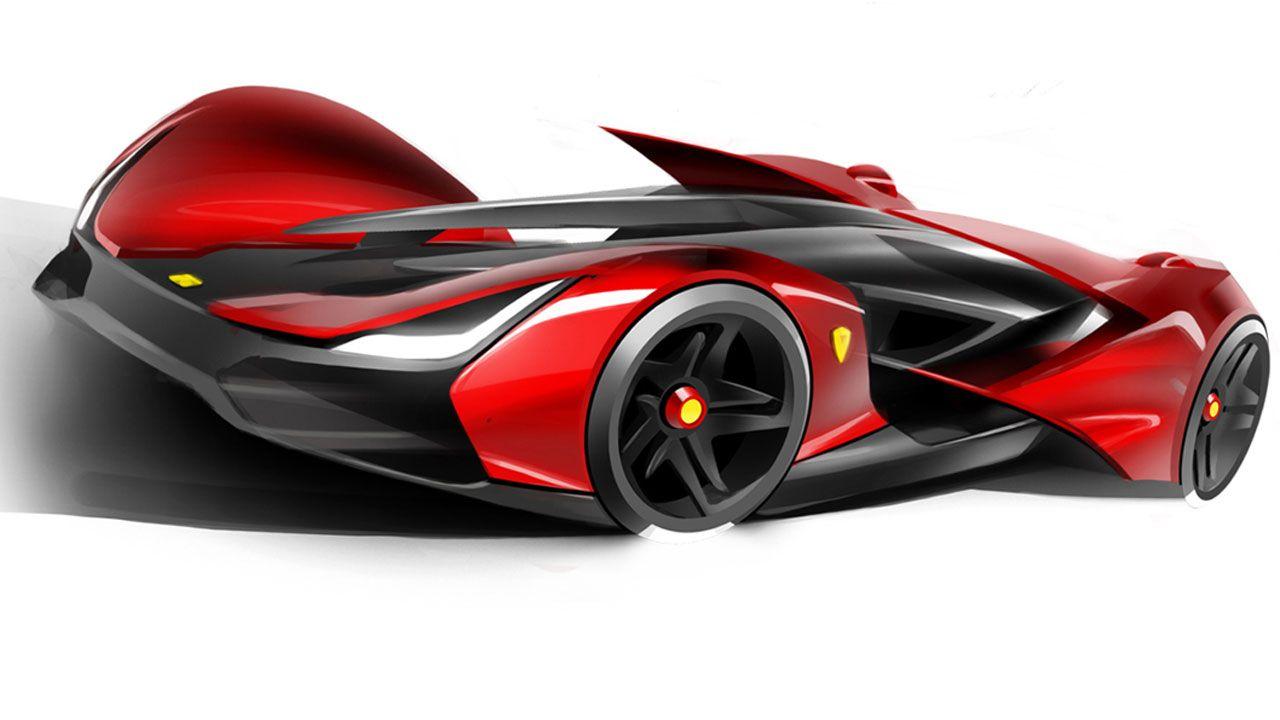 Futuristic Concept Sports Car Futuristic Cars Sport