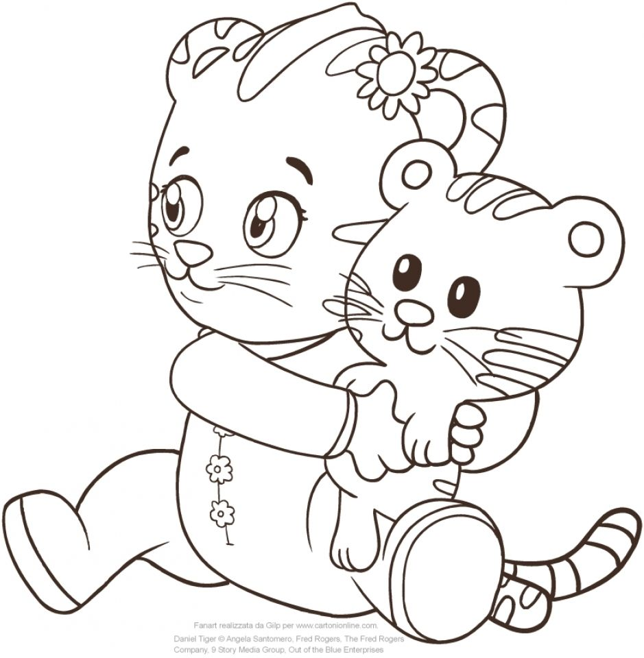 Coloring Rocks Daniel Tiger Owl Coloring Pages Daniel Tiger Birthday Party