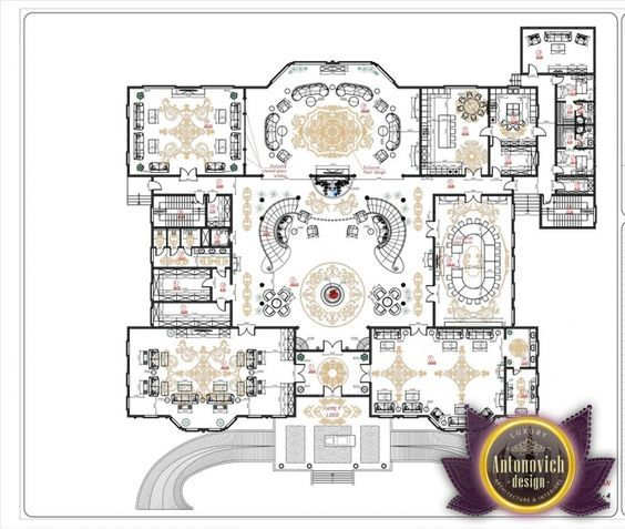 Luxury House Plan 3 by Antonovich Designs | Arab designs in 2018 ...