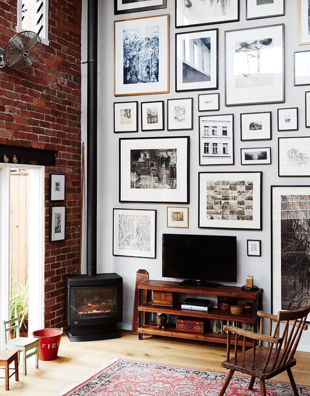 Frames rooms pinterest gallery wall walls and interiors