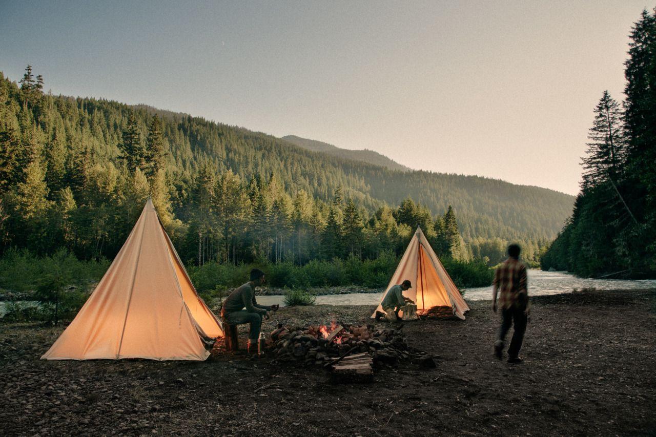 Camping gay trip wilderness