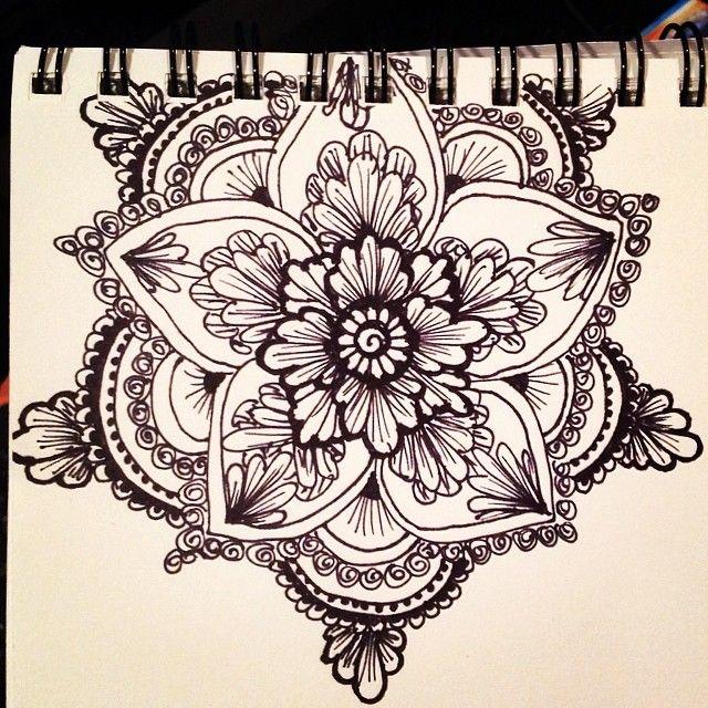 drawing henna flowers henna flower designs flower drawings shoulder
