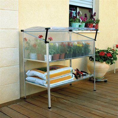 Palram Grow Deck Raised Garden Garden Cold Frame