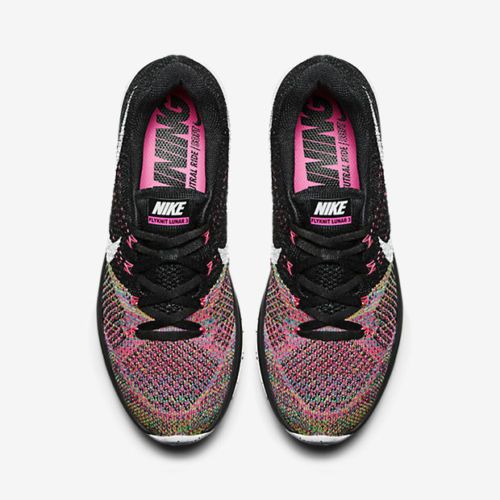 official photos 1985e 1e350 new style nike flyknit lunar 3 pink black 13976 f4aef