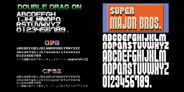 Retro Game Fonts (free download