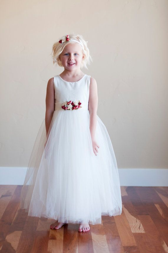 The Kew dress: Cotton flower girl dress, girls birthday dress ...