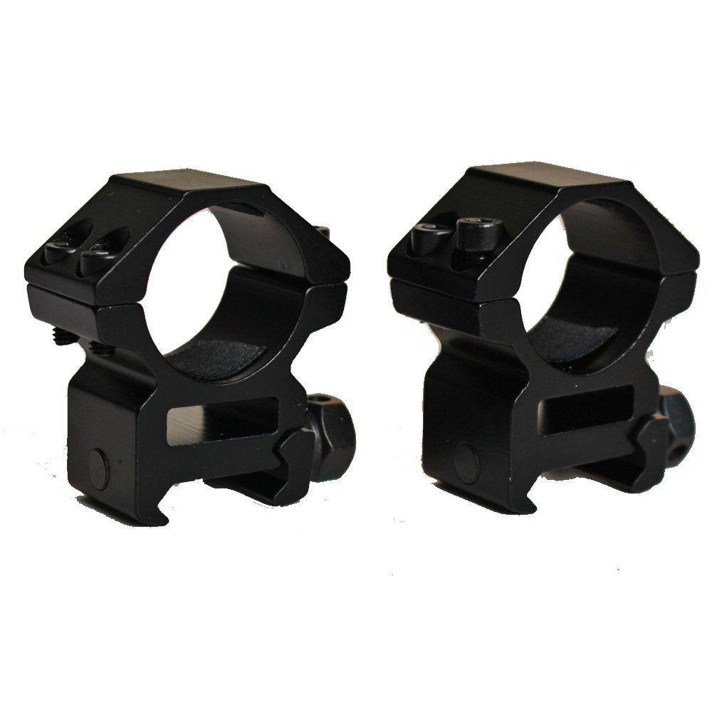 "Medium Profile 1/""//25.4mm Ring 20mm Dovetail Rail Scope Mount for Flashlight"