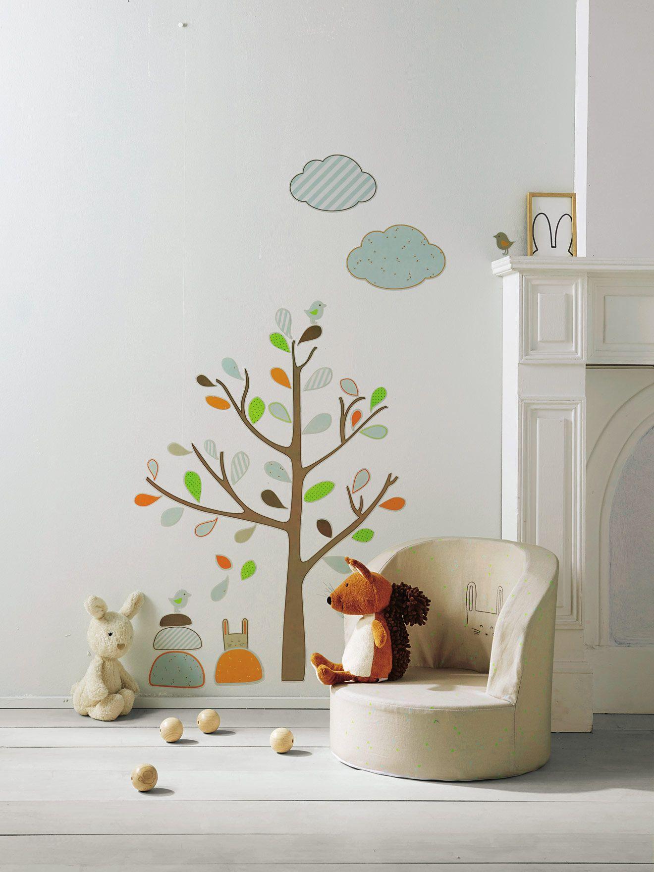 Baumsticker Für Kinderzimmer Von Vertbaudet In Braun   Nur U20ac 2,95 Versand!  Babyzimmer Jetzt Bei Vertbaudet Bestellen!