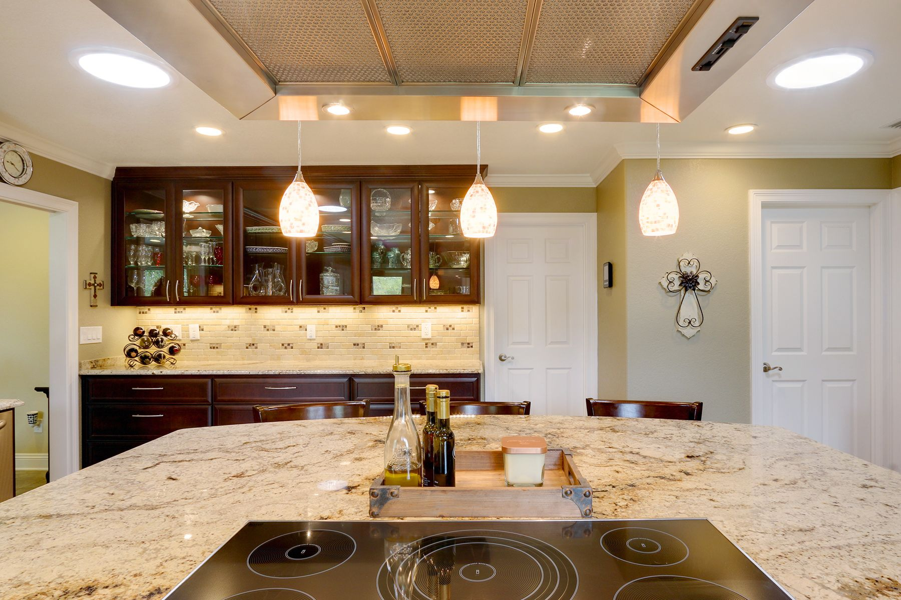 A remodeled kitchen in Pensacola, Florida, now has a ...