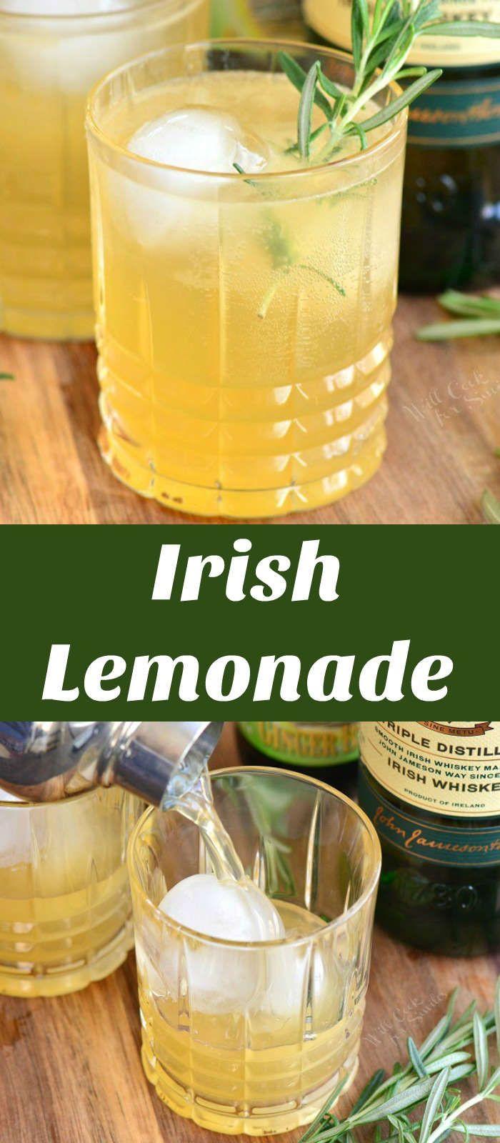 Irish Lemonade - Will Cook For Smiles